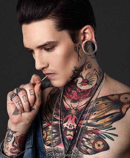 tatouages pour les hommes et women.64
