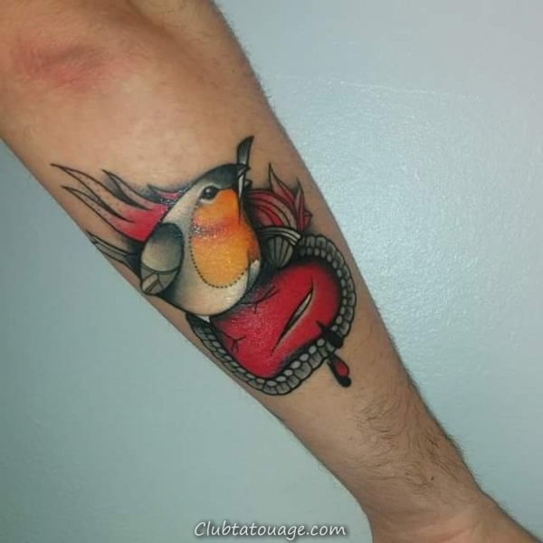 oiseaux tatouages 101