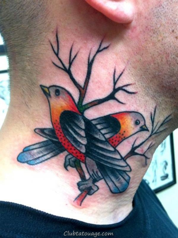oiseaux de tatouages 6