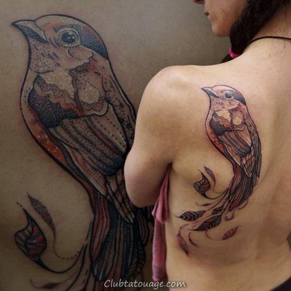 oiseaux de tatouages 7