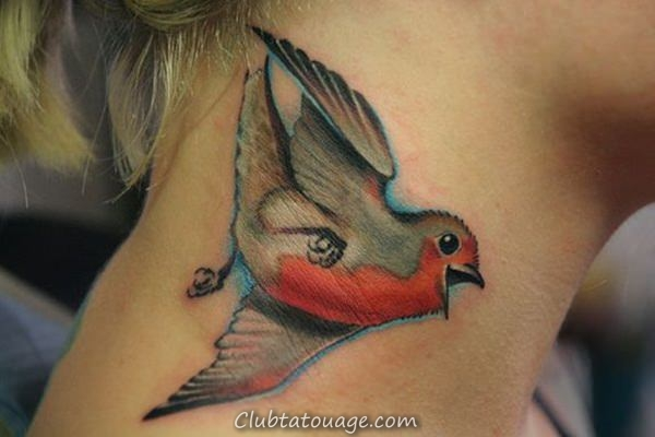 oiseaux de tatouages 9