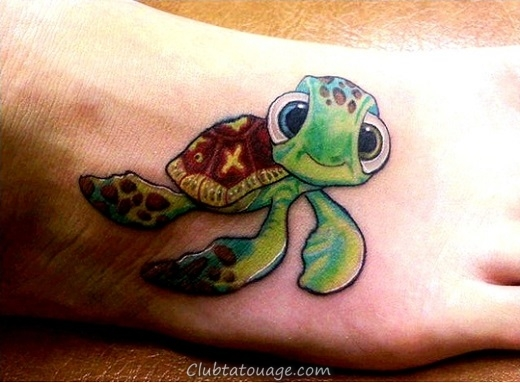 tortue tattoo-designs