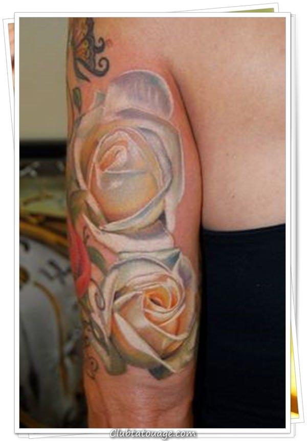 fleurs de tatouages 3