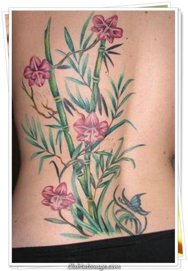 les tatouages des femmes sur le 11 dos - Copier