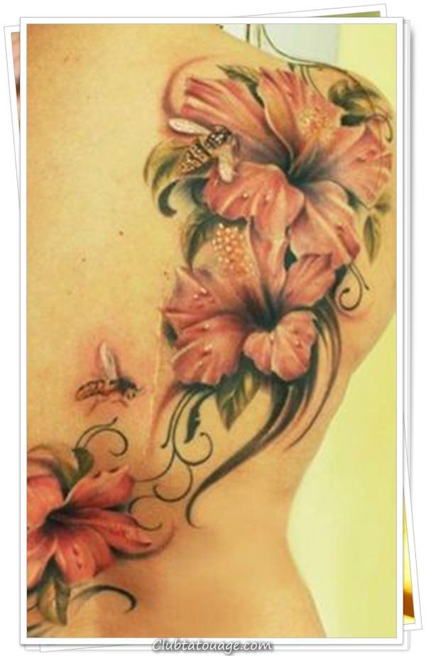 une fleur tatouages 10