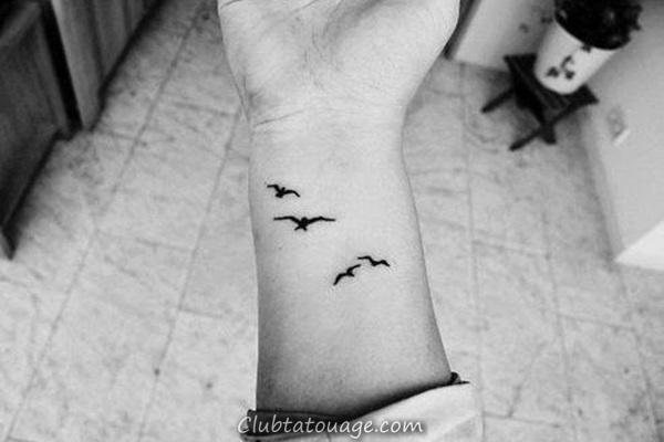 40 tatouages étonnants sur le poignet 1