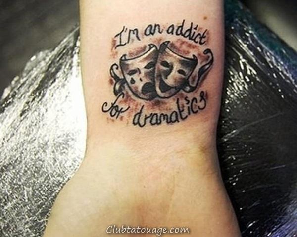 40 tatouages étonnants sur le poignet 27