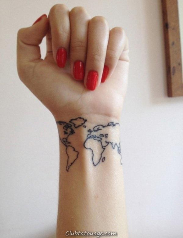 40 tatouages étonnants sur le poignet 7