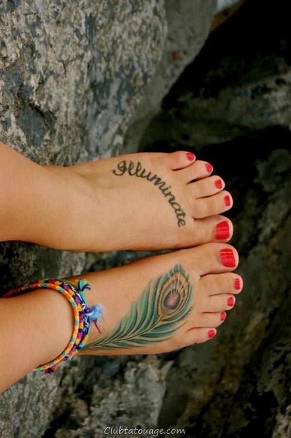 Attractive Tattoo Ideas 40 Foot 18