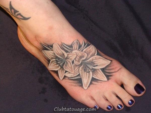 Attractive 40 pieds Tattoo Idées 30