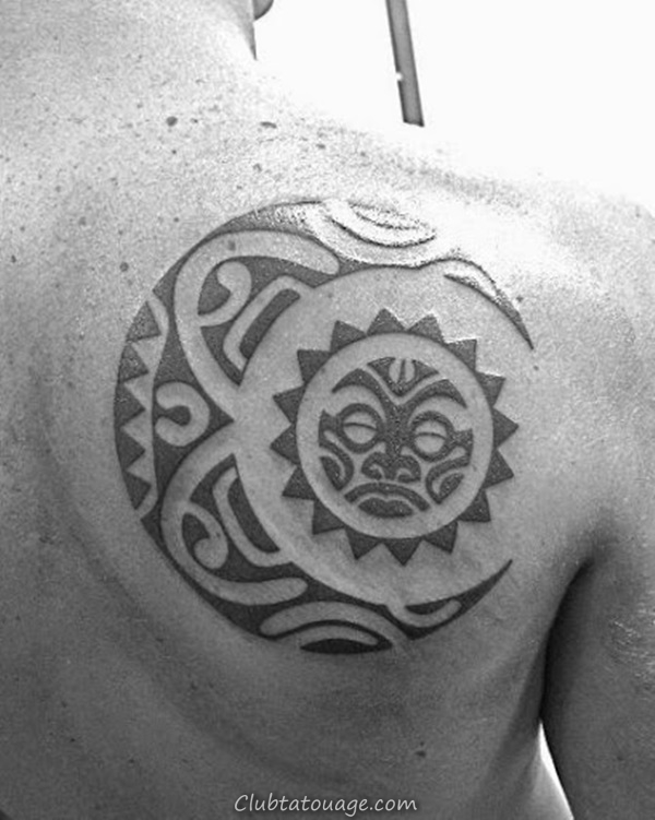 width 40 Attractive Sun Tattoo Design Ideas 23