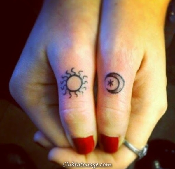 width 40 Attractive Sun Tattoo Design Ideas 27