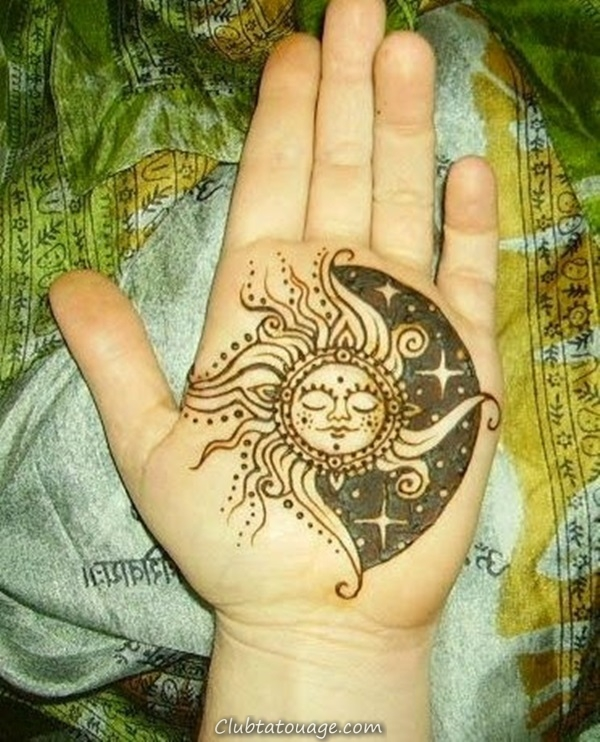 width 40 Attractive Sun Tattoo Design Ideas 28