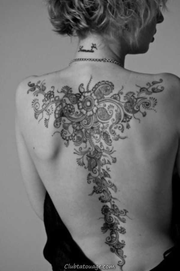 40 Retour Tattoo Ideas for Girls 13