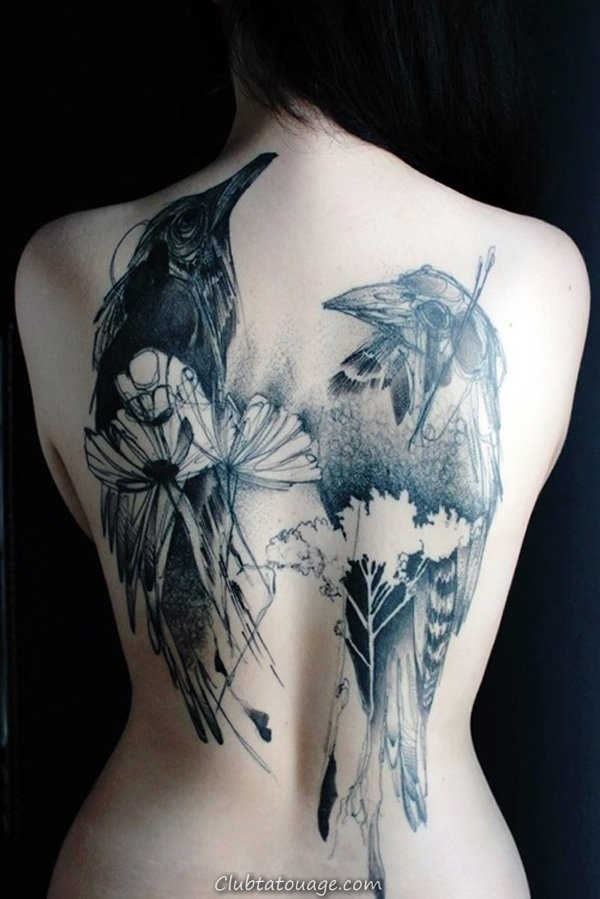 40 Retour Tattoo Ideas for Girls 3