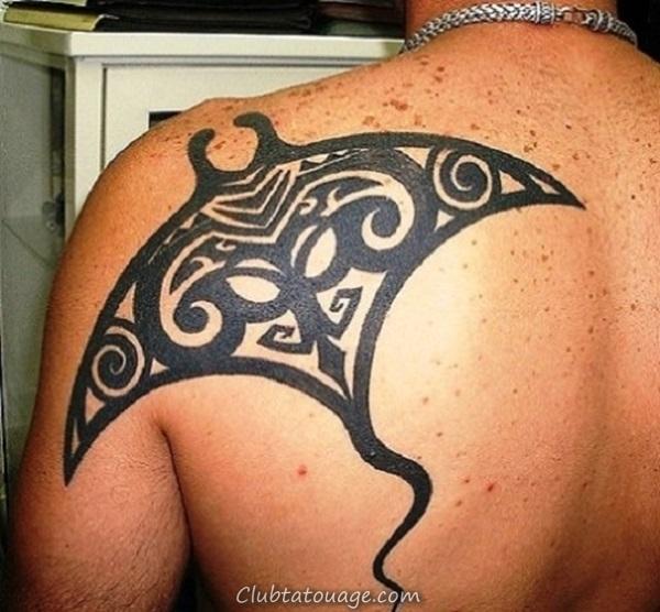 width 40 Belle Stingray Tattoo Ideas 32