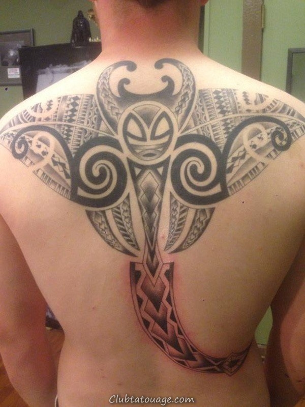 width 40 Belle Stingray Tattoo Ideas 33