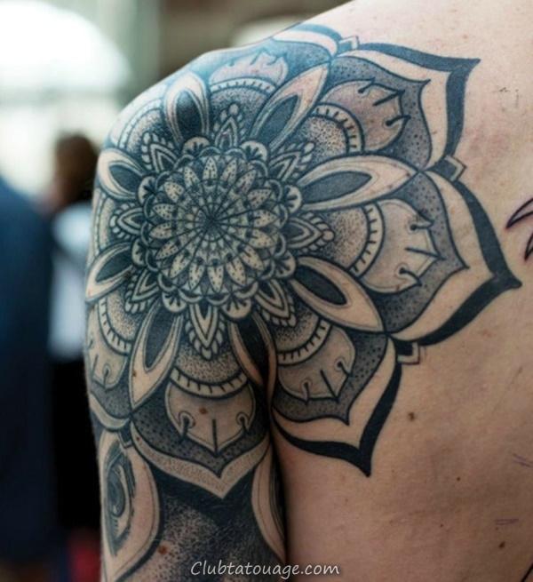 40 Épaule Tatouages pour hommes et femmes 1