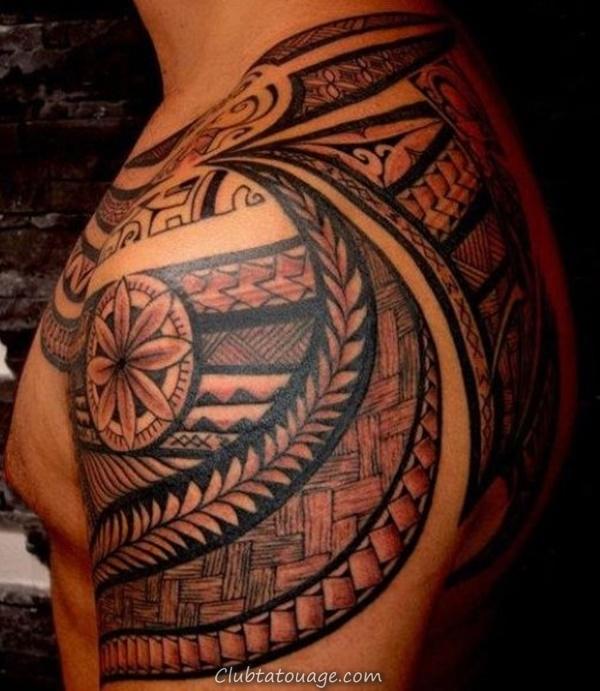 40 Épaule Tatouages pour hommes et femmes 10