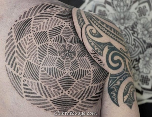 40 Tatouages épaule pour hommes et femmes 17