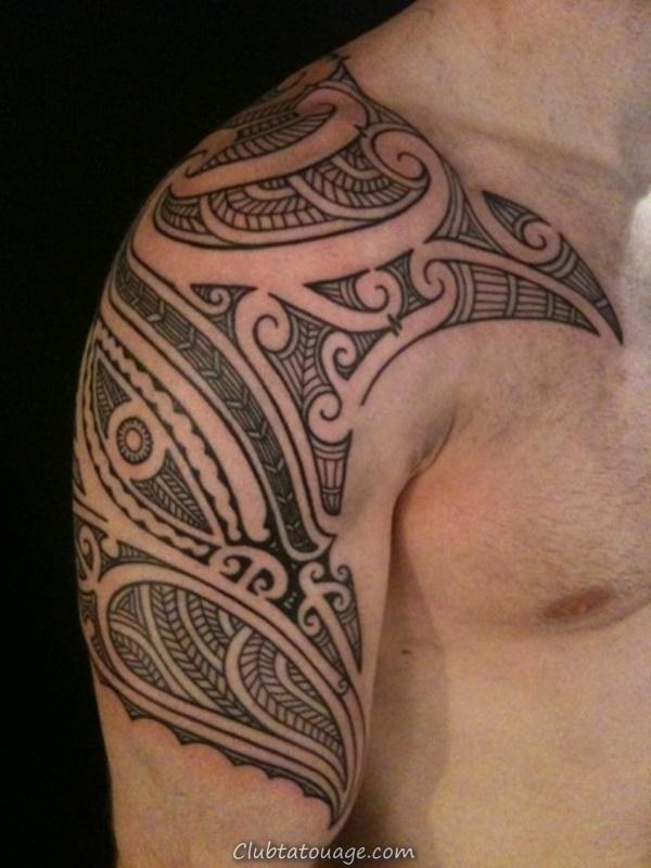 40 Épaule Tatouages pour hommes et femmes 18