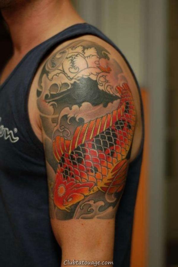 40 Épaule Tatouages pour hommes et femmes 19