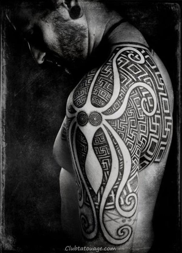 40 Épaule Tatouages pour hommes et femmes 22