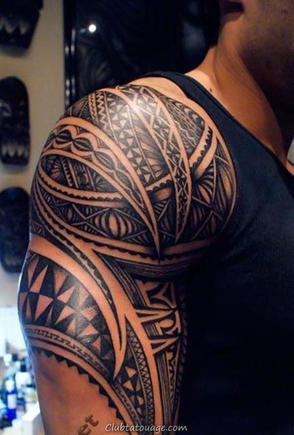 40 Épaule Tatouages pour hommes et femmes 3