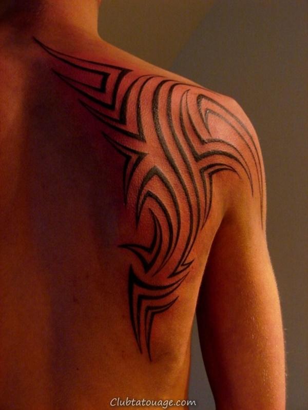 40 Épaule Tatouages pour hommes et femmes 34