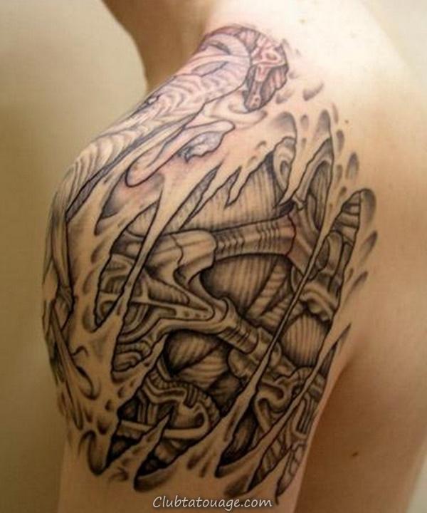 40 Épaule Tatouages pour hommes et femmes 7