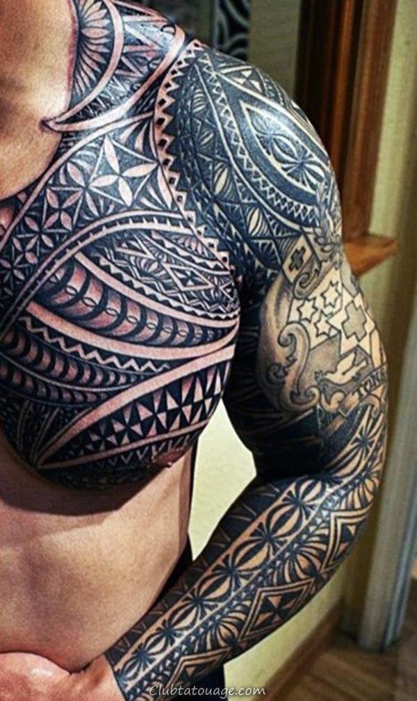 40 Épaule Tatouages pour hommes et femmes 9