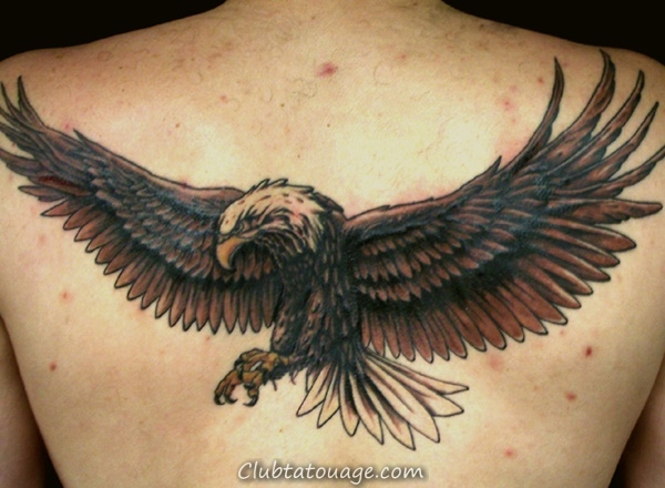 40 spectaculaire Aigle Tattoo Ideas 12