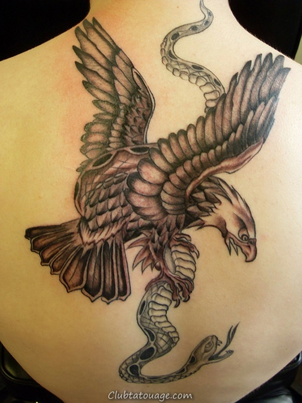 40 spectaculaire Aigle Tattoo Ideas 16