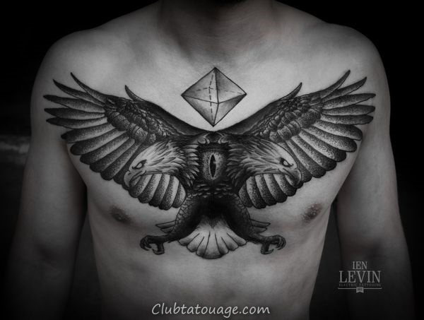width 40 spectaculaire Aigle Tattoo Ideas 19