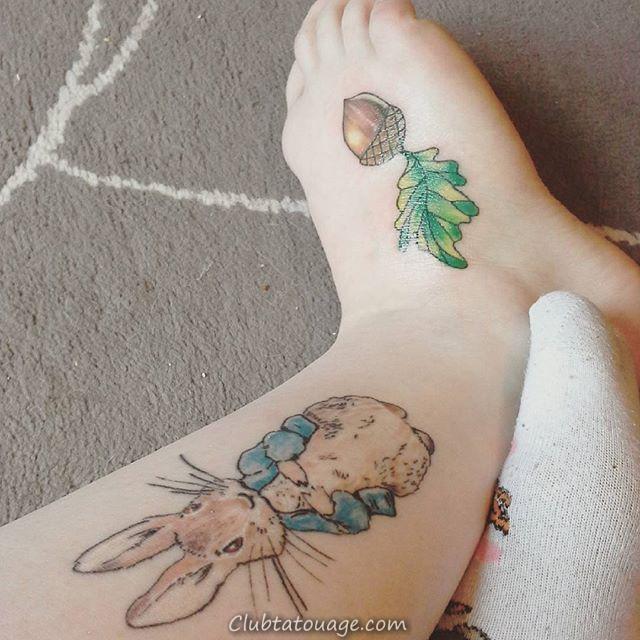 60 Tatouages incroyable lapin pour vous inspirer