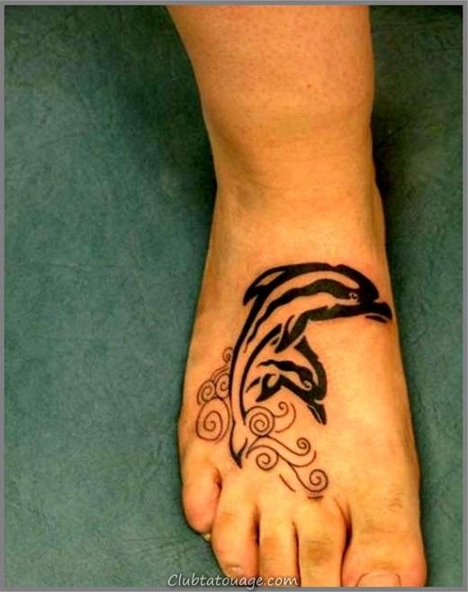 Black-Ink-Dolphin-Tattoo
