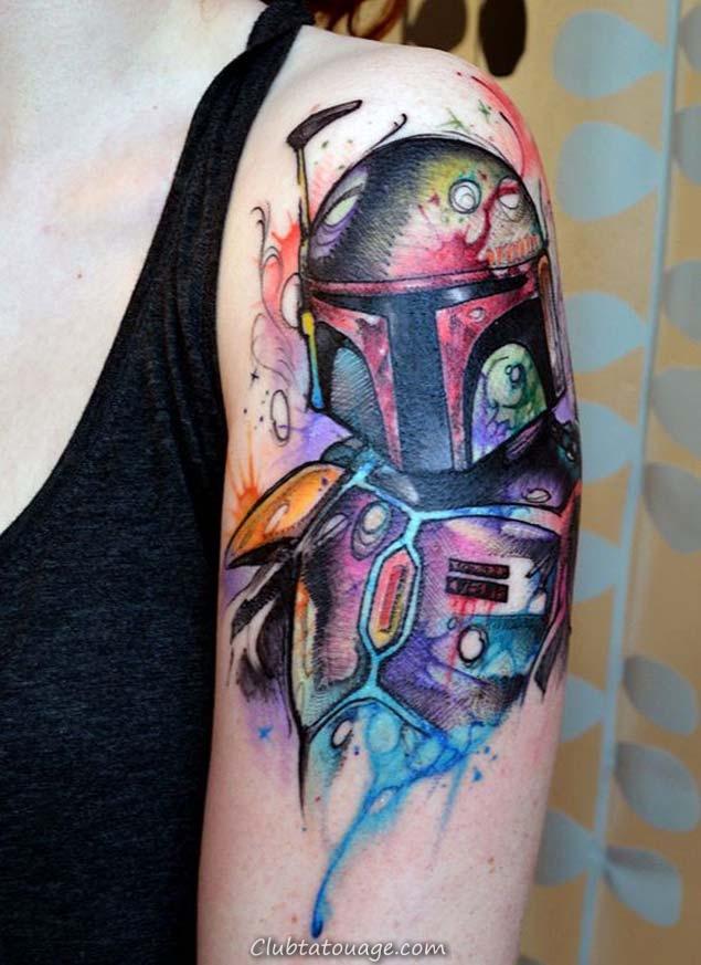 Boba Fett Star Wars Tattoo