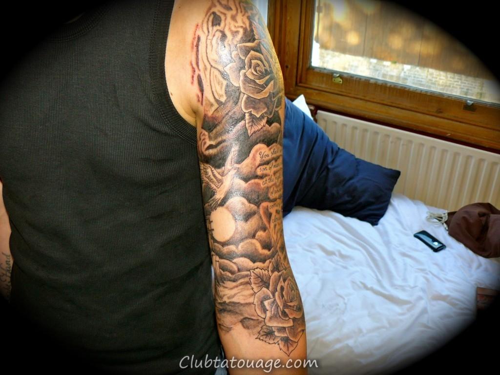 Les nuages de tatouage 625
