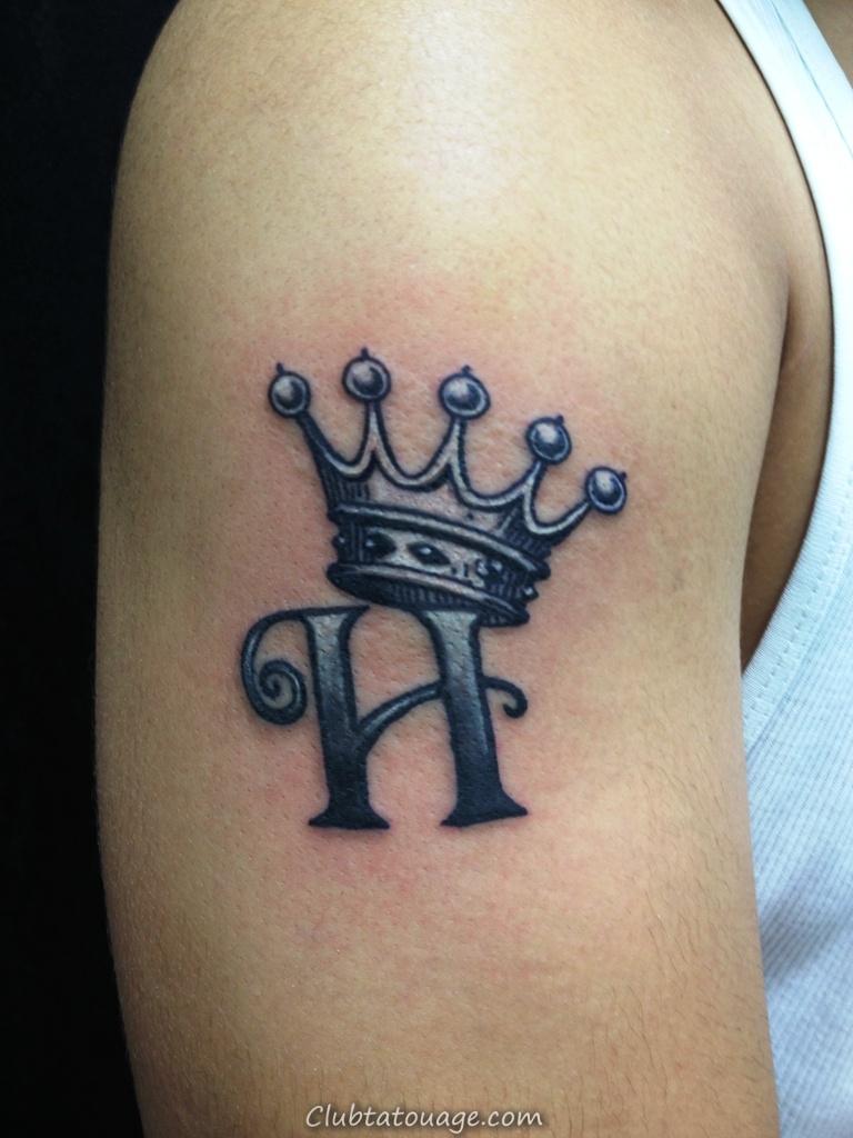 des couronnes de Tattoo