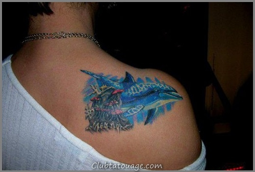 Dolphin-Tattoo-pour-femmes