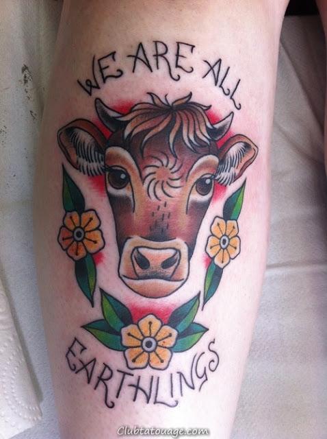 15 Tatouages incroyable Vegan