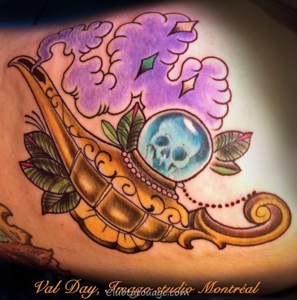 Designs Genie Tattoo and Meanings 10