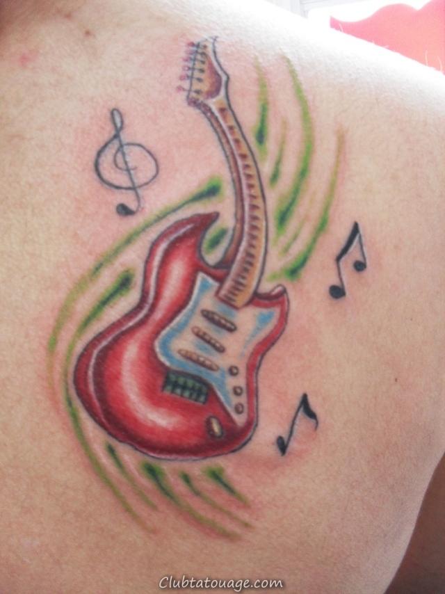Tattoo Guitar Music