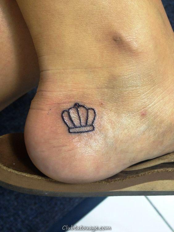 Mon petit tatouage de couronne