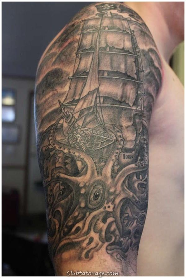 Tattoo nautique Designs.11