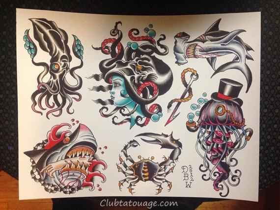 50 Super Design Tattoo et Idées Nautique
