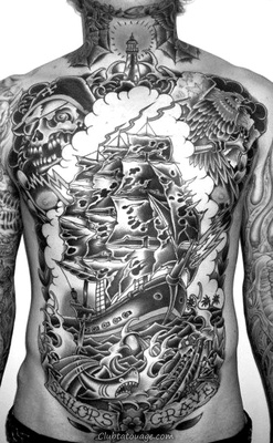Tattoo nautique Designs.49