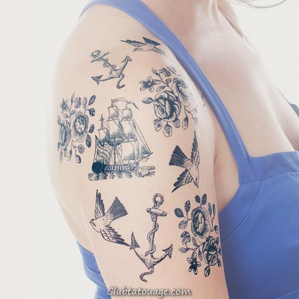 Tattoo nautique Designs.7
