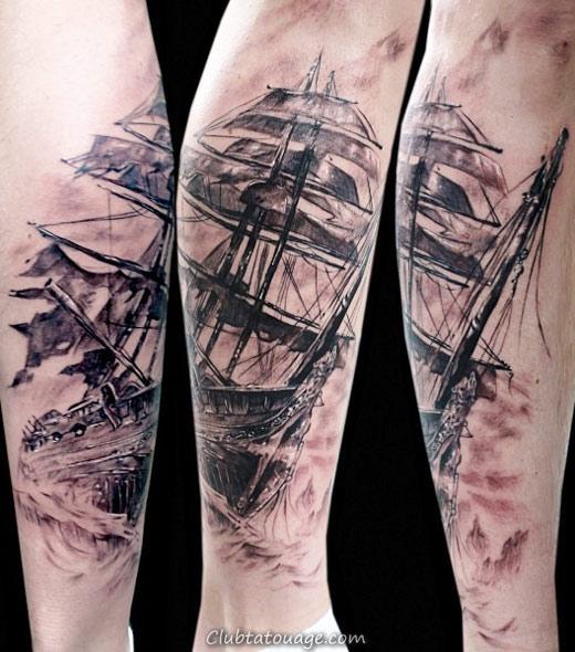 Tattoo nautique Designs.8