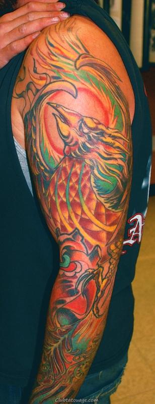 Tattoo Sleeve Phoenix